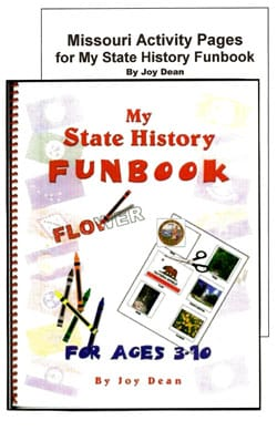 Go to Missouri: My State History Funbook by Joy Dean, Publisher: A Helping Hand