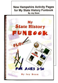 New Hampshire My State History Funbook.