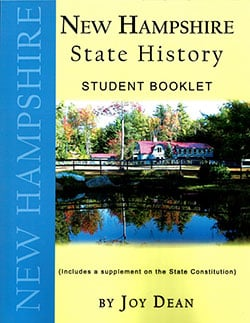 New Hampshire State History From A Christian Perspective Student.