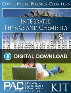 Go to Digital Download: Paradigm Integrated Physics & Chemistry 1 & 2 Kit, Publisher: Paradigm Accelerated Curriculum (PACWORKS)