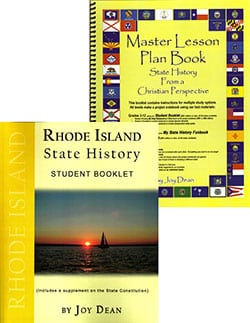 Rhode Island State History From A Christian Perspective Set