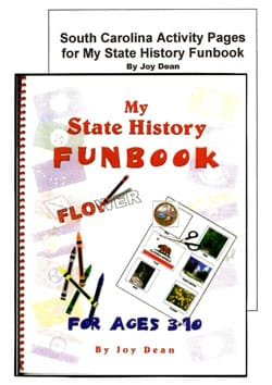 Go to South Carolina My State History Funbook by Joy Dean, Publisher: A Helping Hand
