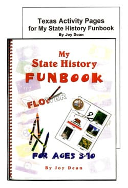 Texas My State History Funbook