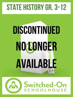 Switched-On Schoolhouse State History (Now includes all 50 states) Publisher: Alpha Omega Publications