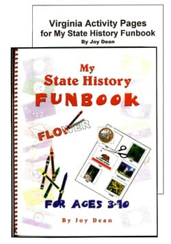 Go to Virginia: My State History Funbook